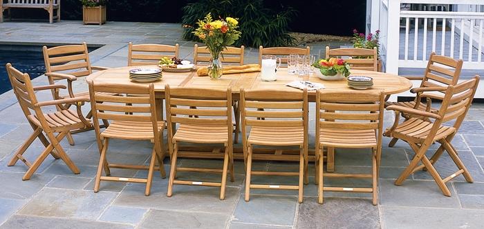 Teak Outdoor Furniture | Kingsley Bate Sets | Royal Teak Sets